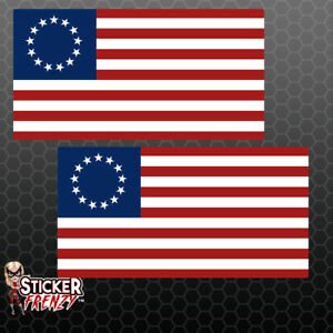 Betsy Ross Usa Flag Stickers 1776 American Nike Car Truck Vinyl Decal Fs2262