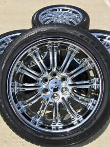 22 22 Inch Chevy Escalade Gmc Silverado Yukon Rims Wheels Tires Factory 5413