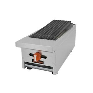 Mvp Group Srrb 12 Charbroiler Gas Countertop