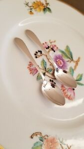 One 1 Dominick Haff Sterling Silver Pointed Antique Demitasse Spoon No Mono