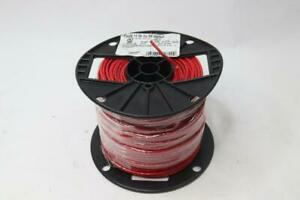 Southwire 14 Awg Copper Machine Tool Wire Red Stranded Thhn thwn 500ft