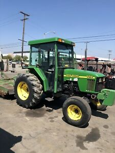 2004 John Deere 5210 Tractor With Attachments