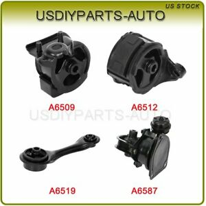Engine Motor Mount Auto Trans For 1991 92 Honda Accord Dx Coupe 2 Door 2 2l