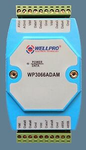Temperature Acquisition Module 8way Rs485 Modbus Be Computer controlled