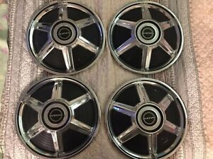 1964 65 Ford Mustang 14 Inch Set Of 4 Hubcaps Nice Vintage Spoke Hubcaps