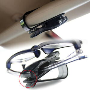 Car Sun Eye Glasses Glass Shield Visor Card Pen Holder Clip Folder Tool Carrier