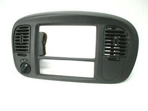 Lincoln Navigator Center Dash 4x4 4wd Radio A C Air Vent Bezel Trim Gray 98 02