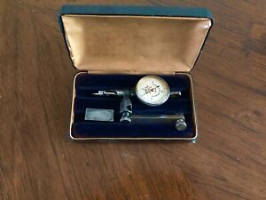Vintage Gem Instrument Mfg Co Fixed Position Dial Indicator Model 343 In Box