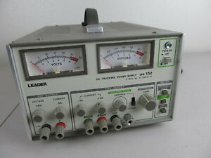 Leader Lps 152 Dc Dual Tracking Power Supply 0 6v 5a 25v 1a 25v 1a Tested