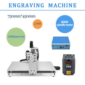 6040z Engraving Machine 3 Axis Engraver Usb Cnc Router Woodwork Milling Kit