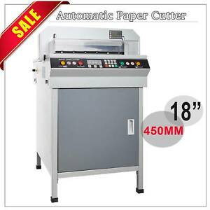 Updated 18 450mm Electric Paper Cutter Numerically Controlled Cutting Machine