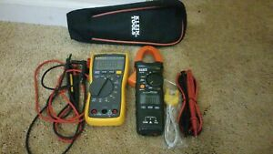 Fluke 117 True Rms W Klein Tools Cl210