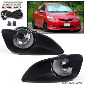 Fog Light Kit For Toyota 07 08 09 10 11 12 Yaris 4dr Sedan Switch Wiring Covers