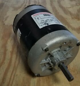 New Century 1 2 Hp 3 Phase Motor Okr1096 5 8 Shaft With Double Flat
