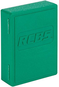 RCBS Die Storage Box Green $16.70