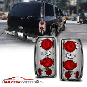 For 2000 2006 Chevy Suburban Tahoe Gmc Yukon Denali Rear Brake Tail Lights Pair