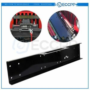 36 Universal Recovery Winch Mounting Plate Mount Bracket Us 13000lb