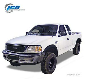 Rugged Paintable Fender Flares Fits Ford F 150 1997 2003 Styleside Only Full Set