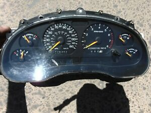 1996 97 Ford Mustang Gt Gauge Cluster 150 Mph Sn95 175302k New Gears Installed