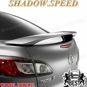 Stock F Style Rear Trunk Spoiler Wing For 2008 13 Mazda Mazda 3 Axela Bl Sedan