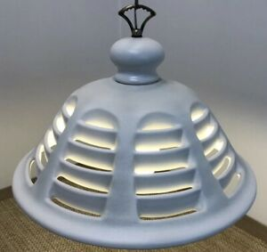 Vintage Mid Century Danish Modern Space Age Ufo Flying Saucer Swag Lamp Fixture