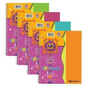 Roaring Spring 13300 12pk Extremes Wire 1 Sub 1 Pocket Notebooks 11 x9 100