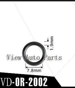 50 Pcs Viton O Ring For Toyota Asnu17 Fuel Injector Repair Kit 7 8 X 1 9 Mm
