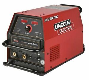 Lincoln Electric K1728 6 Multiprocess Welder Invertec Series 34v