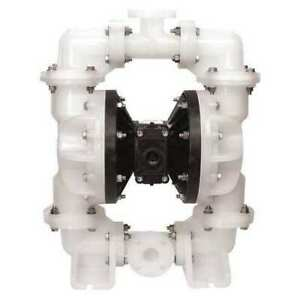 Sandpiper S20b3p2ppus000 Double Diaphragm Pump Polypropylene Air Operated