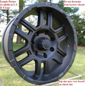 4 New 17 Wheels Rims For Ford 1999 2019 F 250 F350 Super Duty 2wd 4wd 24039