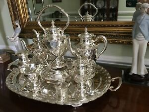 Sterling Silver Tea Coffee Service