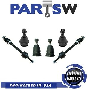 2006 2007 2008 Dodge Ram 1500 Front Upper Lower Ball Joints Sway Bar Links 4wd