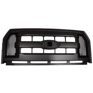 Front Black Honeycomb Mesh Hood Bumper Grill Grille For 2015 2017 Ford F150