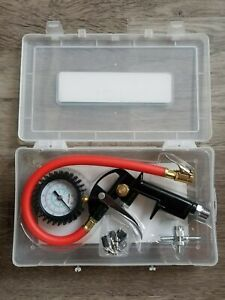 Milton Exel Air Pistol Grip Tire Inflator Gauge Kit W Locking Chuck Ex0510pkit