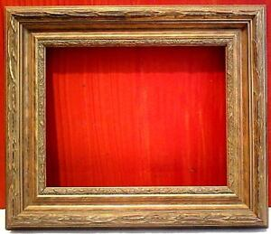 16 X 20 Standard Picture Frame 2 3 4 Wide Gold Leaf Classic Carved Canvas Allow