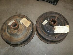 1960 Ford Galaxie Thunderbird Nos Front Brake Drums Coaa 1102 C