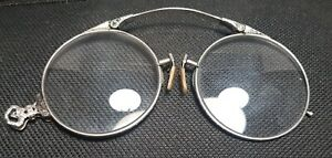 1890 S Antique 12kt Gold Filled Glasses Spectacles Pince Nez Layby Avail