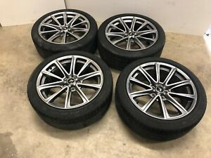 2013 2014 Ford Mustang Gt Premium 19 Rims And Tires Oem