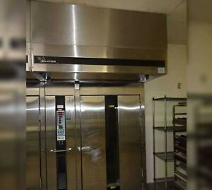 Baxter Double Rack Rotating Gas Analogue Oven Model Ov210g m2b