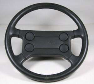 Vw Mk1 Mk2 Gti Scirocco Leather Wrapped Steering Wheel