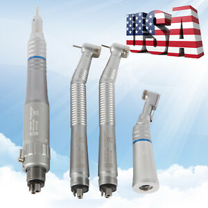 Dental Nsk Style 4 Hole High Low Speed Handpiece Turbines Handpieces Kit
