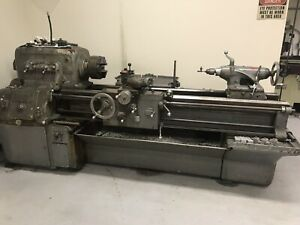 Monarch Heavy Duty Engine Lathe 16 Swing 54 Between Centers W Tooling Nice
