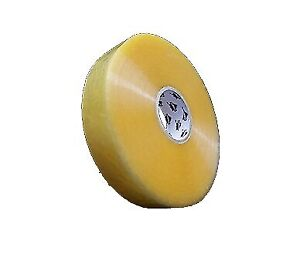 Machine Length Hybrid Packing Tape 3 X 1000 Yards Yellow Transparent 192 Rolls