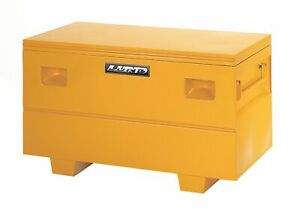 Lund Yellow Steel Job Site Storage Box Chest Front For Universal 08036y