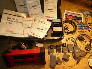 Snap on Mt2500 Scanner With Accessories Keys More