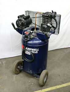 Campbell Hausfeld Vt635801aj 2 Hp 30 Gal Vertical Tank Air Compressor