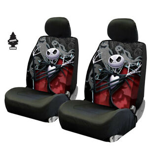 For Jeep Jack Skellington Nightmare Before Christmas Ghostly Car Seat Cover