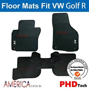 Prime Quallity Vw Golf Gti Mk6 All Weather Tailored Rubber Car Floor Mats