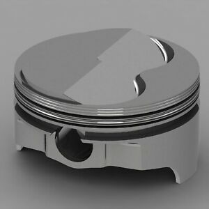 Icon Forged Piston Set Fits Ford 347 Rod 5 400 Solid Dome 6 8cc 2v