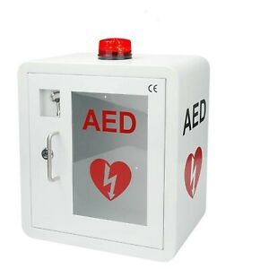 New Aed Cabinet Fits All Brands Cardiac Science Zoll Defibtech Physio control